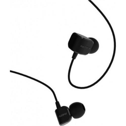 Ακουστικά Stereo Remax RM-502 3,5mm για όλα τα smartphones μαύρου χρώματος