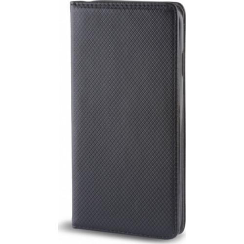 Θήκη Smart Magnet για Huawei Honor 10 μαύρου χρώματος (stand ,θήκη για κάρτα )