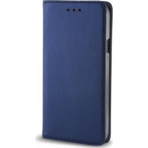 Θήκη Smart Magnet για Xiaomi Redmi Note 4 μπλε χρώματος (stand , θήκη για κάρτα)