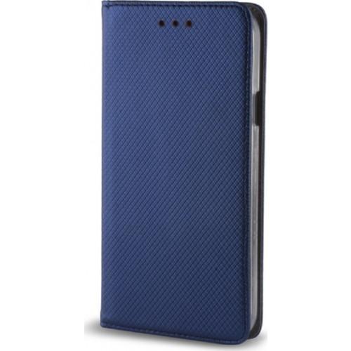 Θήκη OEM Smart Magnet για Xiaomi Redmi 4X μπλε χρώματος (stand ,θήκη για κάρτα )
