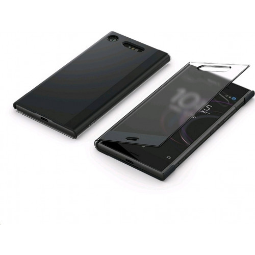 Sony SCTG50 Original Style Cover Stand Xperia XZ1 μαύρου χρώματος