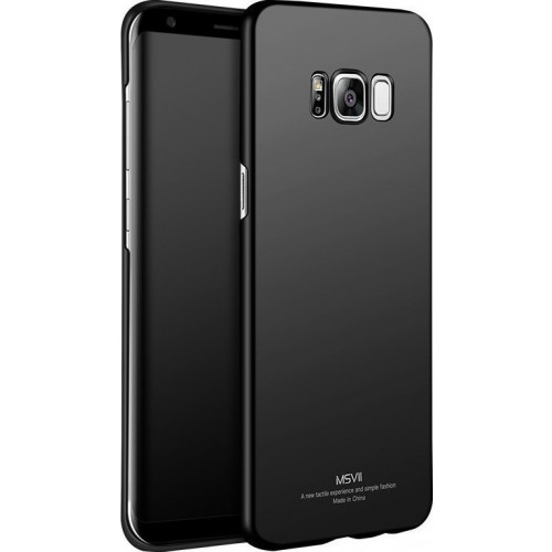 Θήκη MSVII Simple Ultra-Thin Cover PC για Samsung Galaxy S8 G950 μαύρου χρώματος