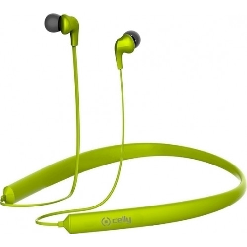 Celly Bluetooth Neck Band Green BHNECKGN ( multipoint )