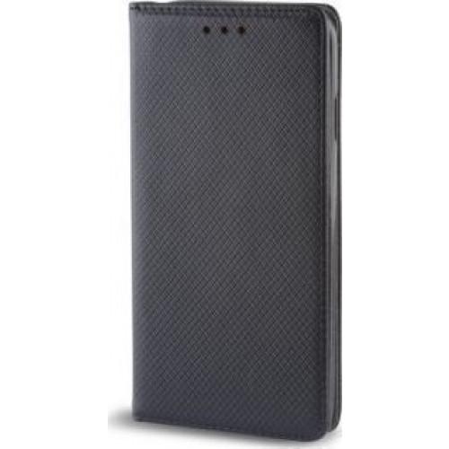 Θήκη OEM Smart Magnet για Huawei P9 Lite Mini μαύρου χρώματος (stand ,θήκη για κάρτα )