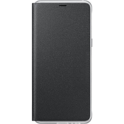 Samsung EF-FA530PBE Original Neon Flip Cover A8 μαύρου χρώματος