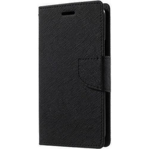 Θήκη OEM Fancy Diary για Huawei Mate 10 Pro μαύρου χρώματος ( θήκη για κάρτες,χρήματα, stand )