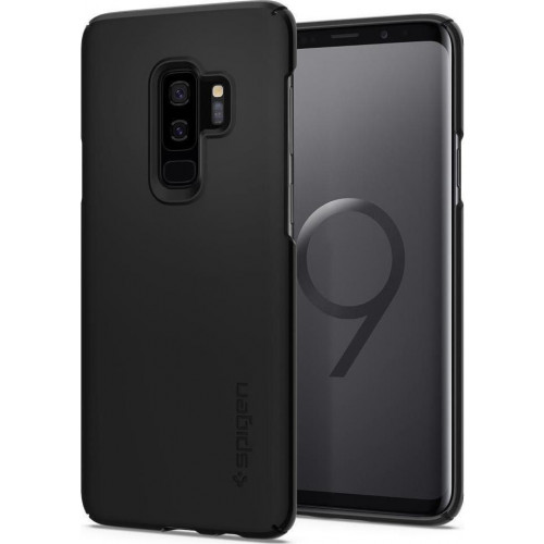 Spigen Thin Fit για Samsung Galaxy S9 Plus G955 black 593CS22908