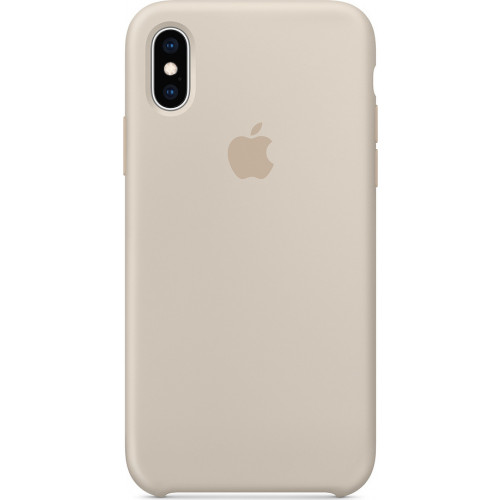Apple Original Silicone Case MRWD2ZM/A iPhone XS / X Stone