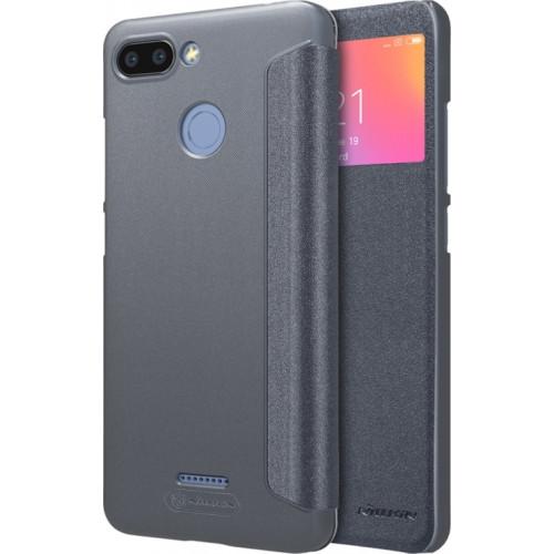Θήκη Nillkin Sparkle Folio S View για Xiaomi Redmi 6 γκρι χρώματος