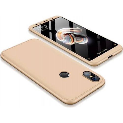 Θήκη OEM 360 Protection front and back full body για Xiaomi Mi A2 / Mi 6X gold