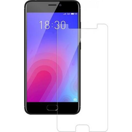 Φιλμ Προστασίας Οθόνης Tempered Glass (άθραυστο ) 9H για Meizu M6 διάφανο