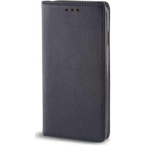 Θήκη OEM Smart Magnet για Samsung Galaxy J6 J600 μαύρου χρώματος (stand ,θήκη για κάρτα )