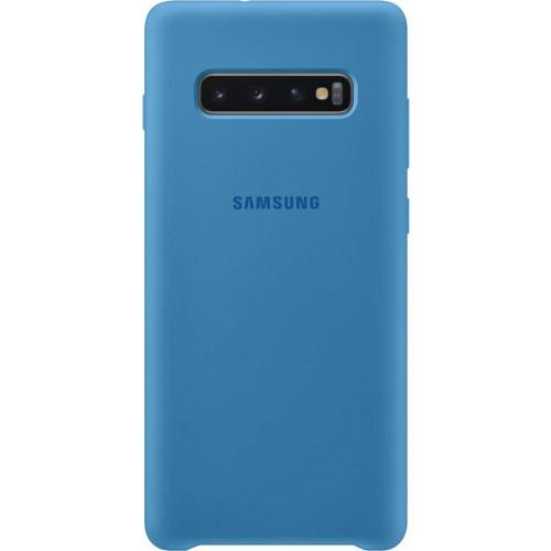 Samsung Original EF-PG975TLEGW Silicone Cover Galaxy S10 PLUS G975 blue