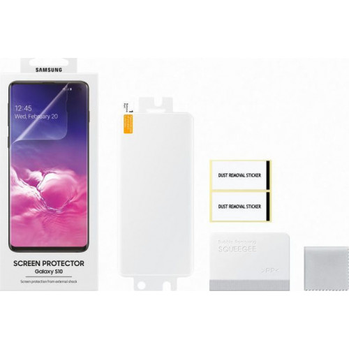 Samsung Original ET-FG973CTEGW Sreen Protector Galaxy S10 ( 2 τεμάχια)