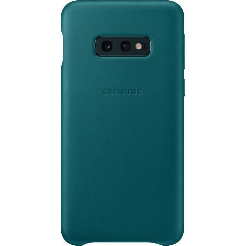Samsung Original EF-VG975LGEGW Leather Cover Galaxy S10 Plus green