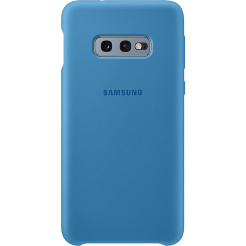 Samsung Original EF-PG970TLEGW Silicone Cover Galaxy S10e G970 blue
