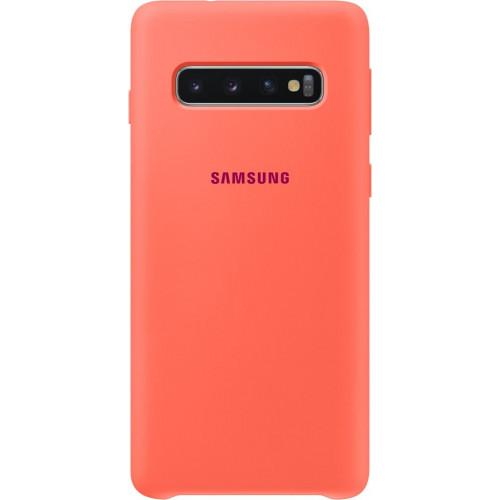 Samsung Original EF-PG973THEGW Silicone Cover Galaxy S10 G973 berry pink