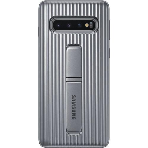 Samsung Original EF-RG975CSEGW Protective Standing Cover Galaxy S10 Plus Silver