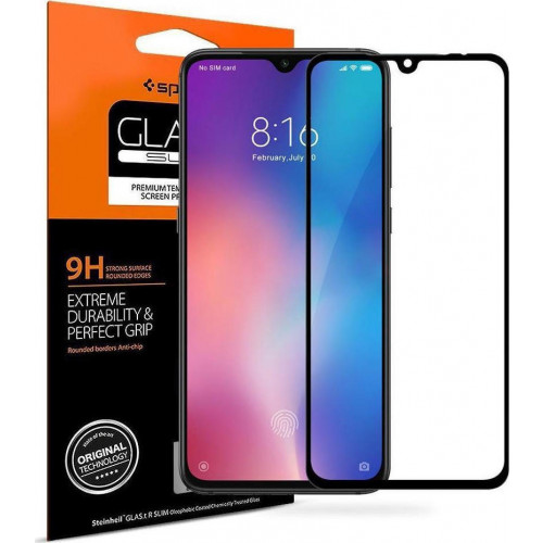 Spigen GLAS.tR Full Cover Xiaomi Mi 9 Premium Tempered Glass S35GL26170