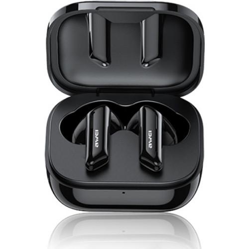 Awei T36 Earbud Bluetooth Handsfree μαύρου χρώματος