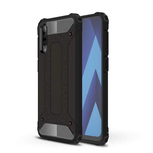 Θήκη OEM Hybrid Armor Tough Rugged Cover για Samsung Galaxy A70 μαύρου χρώματος