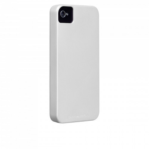 Case-Mate iPhone 4/4S Barely There Cases Pearl White