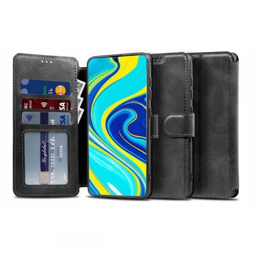 Θήκη TECH-PROTECT Wallet για Xiaomi POCO X3 NFC μαύρου χρώματος