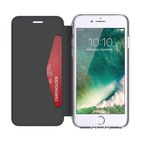 Griffin Reveal Wallet Case για Apple iPhone 7 Plus/6 Plus/6s Plus μαύρο διαφανές GB42754