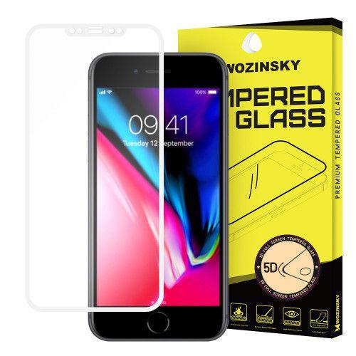 Tempered Glass PRO+ 5D Super Tough Screen Protector Πλήρους Κάλυψης με πλαίσιο για iPhone X white