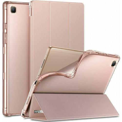 Θήκη INFILAND CLASSIC STAND για Samsung GALAXY TAB A7 10.4 T500/T505 PINK
