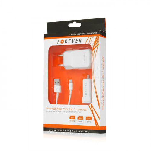 Φορτιστής Forever 3 in 1New για Apple iPhone 5