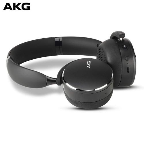 AKG Y500 On-Ear Foldable Wireless Bluetooth Headphones -Black