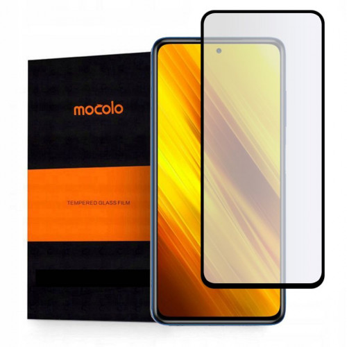 Mocolo TG+ 3D Full Glue Tempered Glass Full face for Xiaomi POCO X3 NFC black