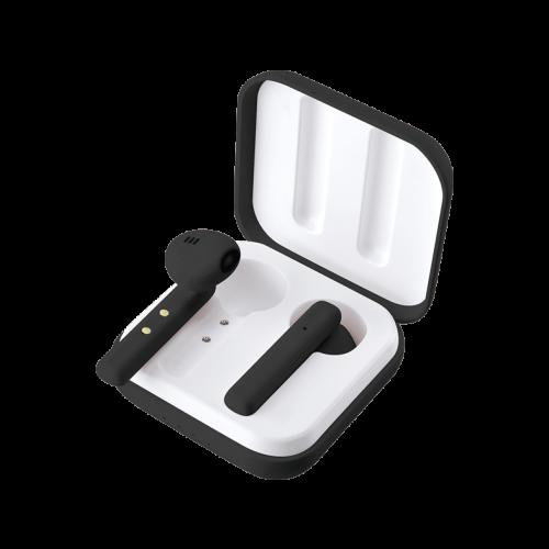 Ασύρματα ακουστικά LEDWOOD + Θήκη φόρτισης LD-M1011-TWS Μαύρα (3700789508045)