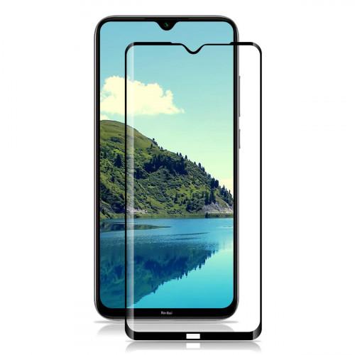 Tempered Glass Πλήρους Κάλυψης 9H 3D Full face Full glue για Xiaomi Redmi Note 8T black