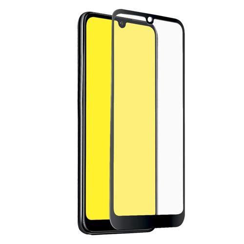 Tempered Glass Πλήρους Κάλυψης 9H 5D Full face Full glue για Huawei Y6 2019 / Honor 8A  black