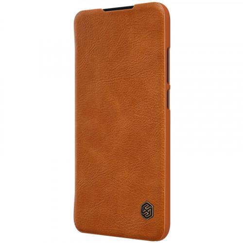 Θήκη Nillkin Qin Book για Xiaomi Redmi Note 7 καφέ χρώματος (Δερμάτινη)