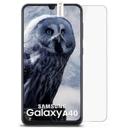 Tempered Glass 3D Full Face Samsung Galaxy A40 διάφανο