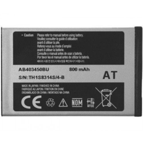 Μπαταρία Samsung AB403450BU 800mAh M3510, S3500 (χωρίς συσκευασία)