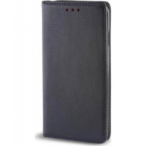 Θήκη OEM Smart Magnet για Samsung Galaxy A6 Plus A605 μαύρου χρώματος (stand ,θήκη για κάρτα )