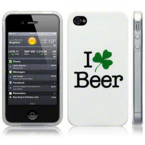 Θήκη TPU Gel για Apple iPhone 4 / 4S Beer by Warp