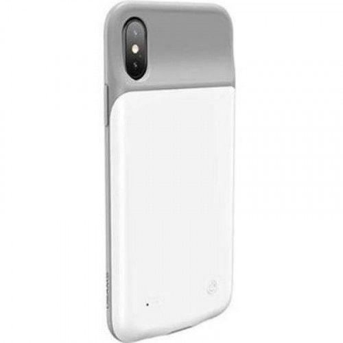 USAMS US-CD43 Θήκη Μπαταρία 3200mAh White for iPhone X