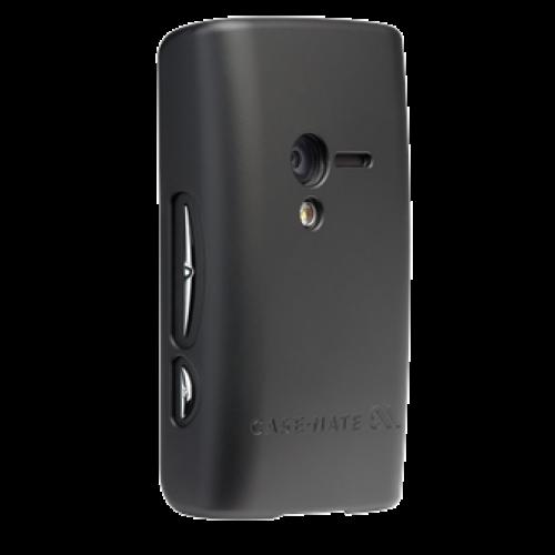 Case-Mate Sony Ericsson X10 mini Barely There Case Black in Black