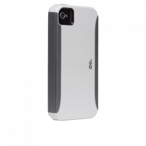Case-Mate Apple iPhone 4/4S Pop Case 1.0 White / Grey