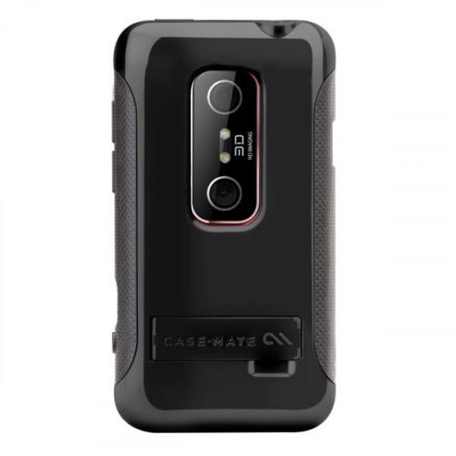 Case-Mate HTC Evo 3D Pop Case Black / Grey