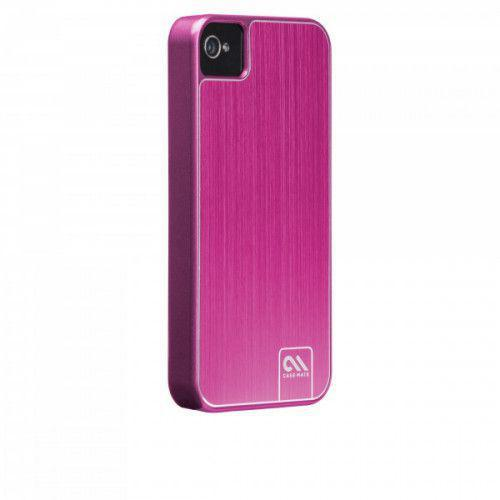 Case-mate Barely There Brushed Aluminium Cases For iPhone 4/4s in Pink