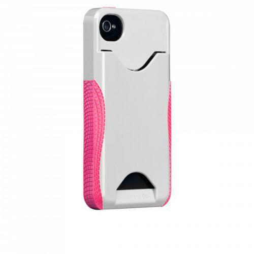 Case-mate Pop ID Cases iPhone 4/4s in White & Honey