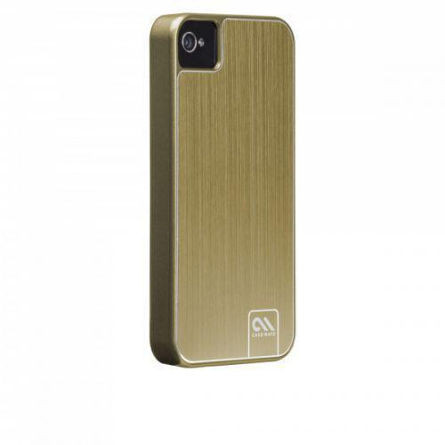 Case-mate Barely There Brushed Aluminium Cases For iPhone 4/4s - Gold