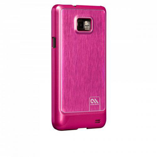 Case-mate Barely There Brushed Aluminium Samsung Galaxy S2 in Pink