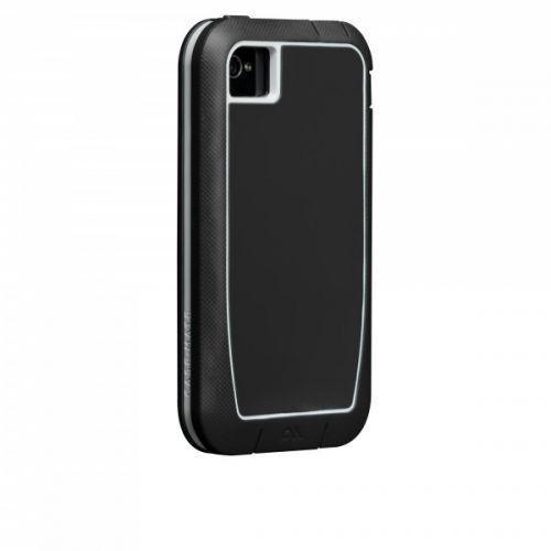 Case-mate Phantom Cases for Apple iPhone 4/4s - Black & White + φιλμ προστασίας οθόνης